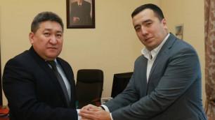 Байсуфинов возглавил казахстанский клуб