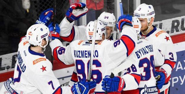 Определился третий участник плей-офф КХЛ