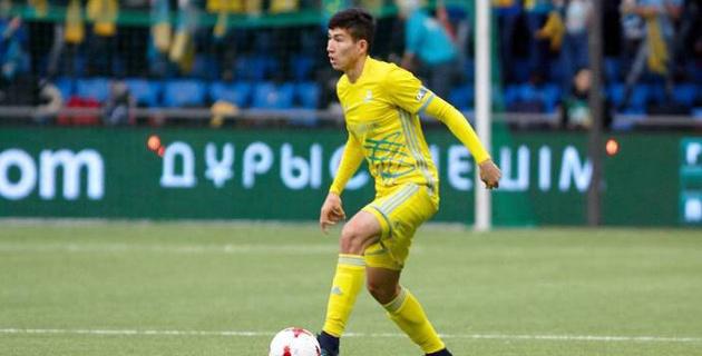 Российский клуб пока не может заявить новичка из сборной Казахстана