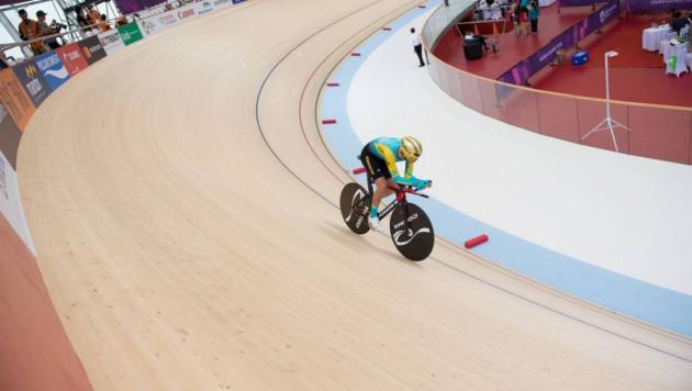 Казахстан завоевал 14 медалей на чемпионате Азии по велотреку