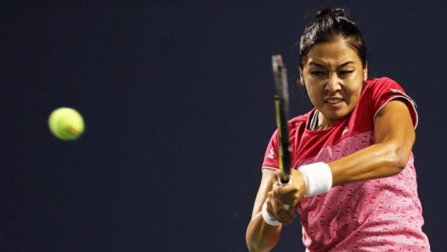 Зарина Дияс взяла в решающем сете один гейм и проиграла на старте Australian Open