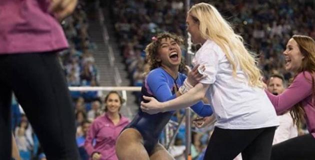 """30 миллионов просмотров, или как выступление американской гимнастки """"взорвало"""" Интернет"""