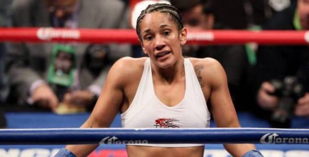 Аманда Серрано быстрым нокаутом завоевала вакантный титул WBO