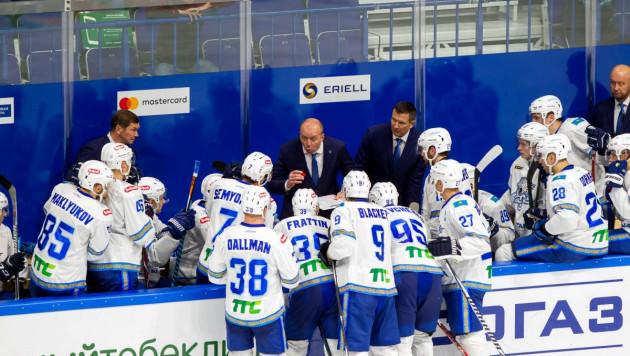 """""""Барыс"""" объявил состав на гостевую серию из четырех матчей КХЛ"""