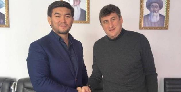 """""""Ордабасы"""" объявил о продлении контракта с главным тренером Цхададзе"""