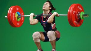 Победительница ЧМ-2018 по тяжелой атлетике в весе Чиншанло попалась на допинге