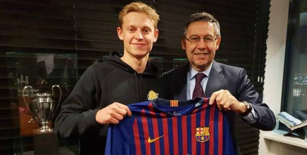 """""""Барселона"""" купила молодого голландца за 75 миллионов евро"""