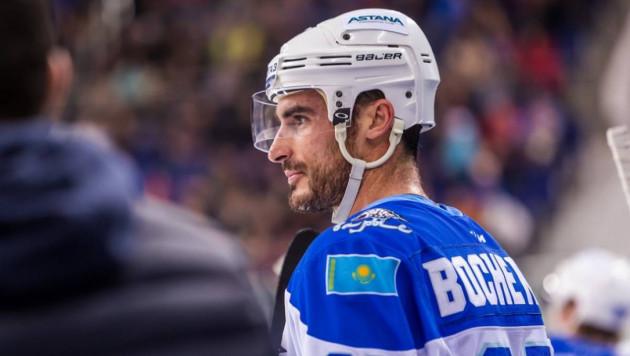 """Боченски забил лидеру КХЛ на 19-й секунде и стал автором самой быстрой шайбы """"Барыса"""" в сезоне"""