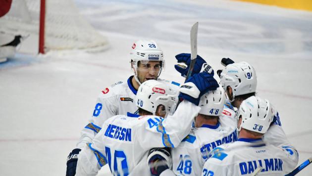 """""""Барыс"""" первым в сезоне забросил пять шайб в ворота ЦСКА"""
