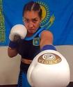 Казахстанская боксерша Аида Сатыбалдинова одержала досрочную победу над мексиканкой в Мексике