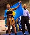 """""""Это мой стиль"""". Казахстанская боксерша Сатыбалдинова прокомментировала победу над мексиканкой во втором раунде"""