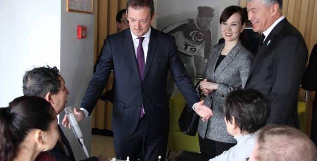 Казахстан - это страна, которая развивает паралимпийский спорт - президент Международного паралимпийского комитета