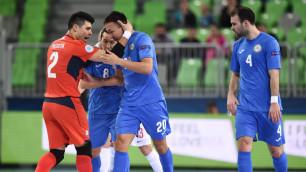 Сборная Казахстана по футзалу обыграла соперника по Евро-2016