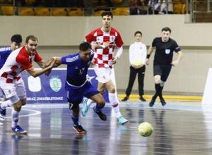 Сборная Казахстана по футзалу не смогла во второй раз обыграть Хорватию