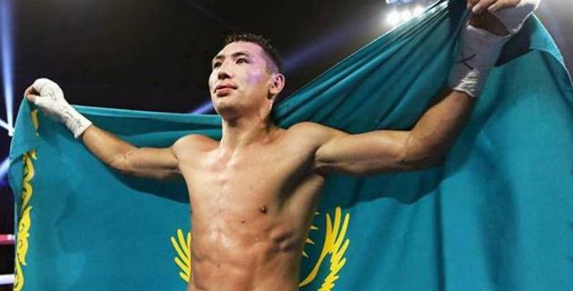 Видео первой победы нокаутом казахстанского средневеса Алимханулы в США