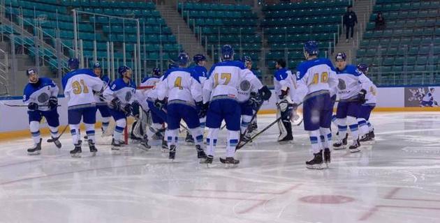 Сборная Казахстана по хоккею вырвала победу у Латвии в овертайме и стала победителем турнира в Корее