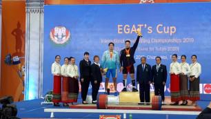Казахстанские тяжелоатлеты выиграли еще три медали на квалификационном олимпийском турнире