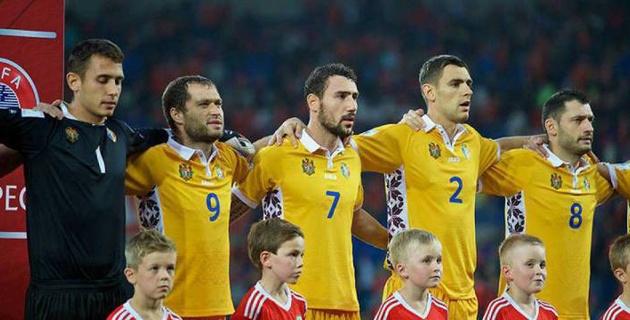 Сборная Молдовы по футболу назвала состав на товарищеский матч с Казахстаном