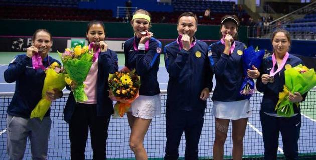 Казахстанские теннисистки узнали соперниц за выход во вторую мировую группу Кубка Федерации