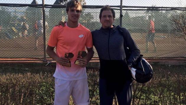 Казахстанский теннисист Дмитрий Попко выиграл второй турнир подряд