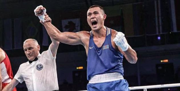 Ответил на вызов, или как казахстанский супертяжеловес одним ударом выиграл досрочно бой