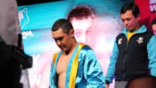 Казахстанец Арман Рысбек проведет бой в Лас-Вегасе