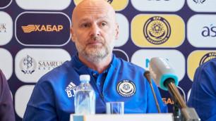 Новый тренер сборной Казахстана рассказал о новичках и высказался о капитане