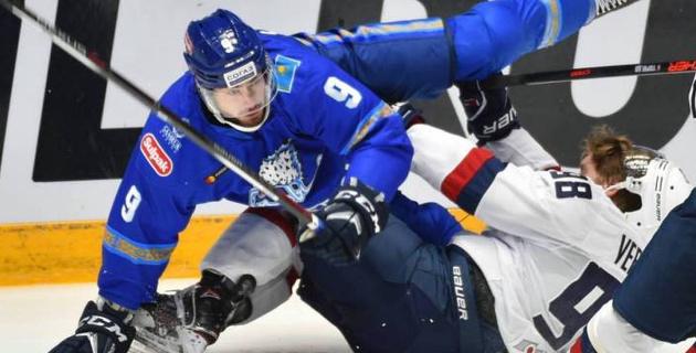 """Как """"Барыс"""" играл в регулярном чемпионате со своим первым соперником в плей-офф КХЛ"""