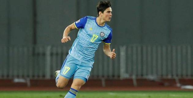 Видео гола-красавца, который принес победу сборной Казахстана по футболу в первом матче в 2019 году