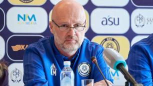 Тренер сборной Казахстана Билек прокомментировал победу над Молдовой и похвалил автора гола