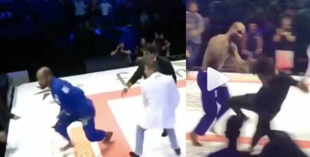 Бразильский боец напал на зрителей и спровоцировал массовую драку на турнире