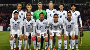 Футболистки сборной Казахстана забили шесть безответных мячей в товарищеском матче в Турции