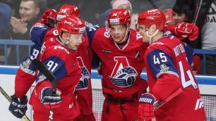 """""""Локомотив"""" первым из команд КХЛ повел в серии плей-офф со счетом 2:0"""