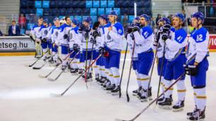 Сборная Казахстана по хоккею забросила десять шайб на старте Универсиады