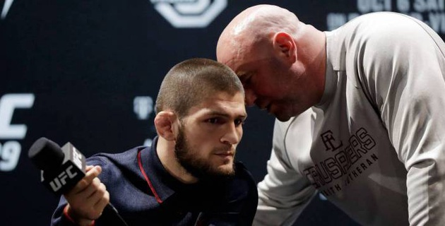Хабиб Нурмагомедов потроллил президента UFC