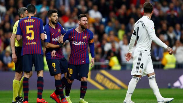 """Барселона"" во второй раз за три дня победила ""Реал"" в Мадриде"