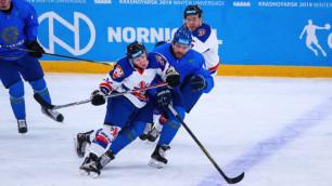 Сборная Казахстана по хоккею из-за травмы потеряла нападающего в матче с 17 шайбами на Универсиаде