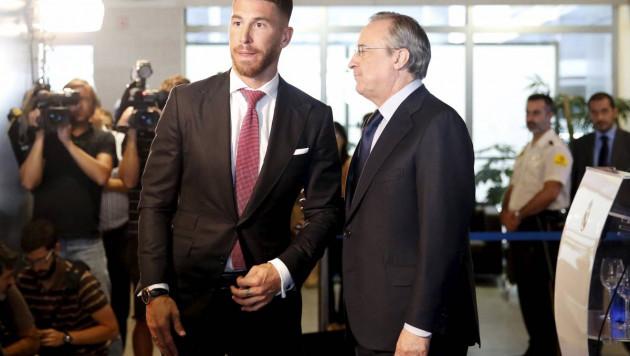 """""""Заплати мне - и я уйду"""". В """"Реале"""" разгорелся скандал между Рамосом и президентом клуба"""