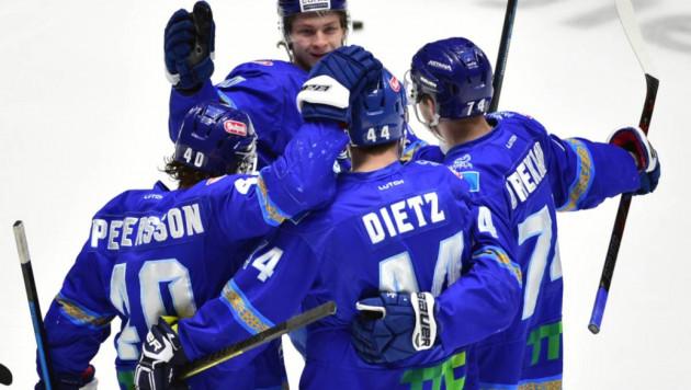 """""""Барыс"""" в третий раз в истории вышел во второй раунд плей-офф КХЛ"""