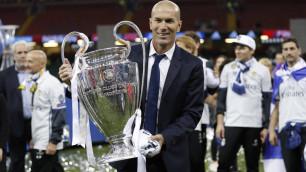 """Реал"" объявил о возвращении Зидана на пост главного тренера"