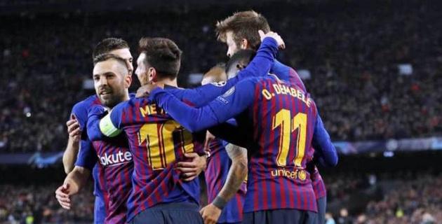 """""""Барселона"""" установила новый рекорд Лиги чемпионов"""