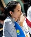 Женская сборная Казахстана победила Египет в восьмом туре командного ЧМ в Астане