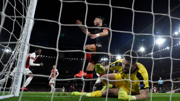 """Обидчик """"Астаны"""" не удержал преимущество в два гола перед """"Арсеналом"""" и вылетел из Лиги Европы"""