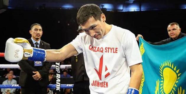 Алимханулы провел спарринг с бывшим претендентом на чемпионский пояс WBC