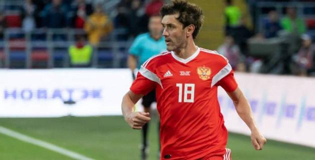 Юрий Жирков вызван в сборную России на матч с Казахстаном