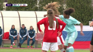 Футболистки устроили драку во время матча чемпионата Европы