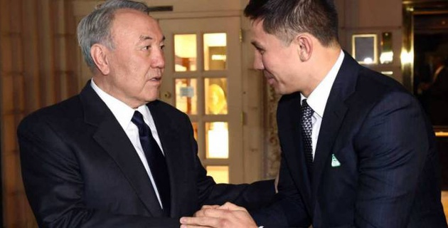 Геннадий Головкин отреагировал на отставку Нурсултана Назарбаева