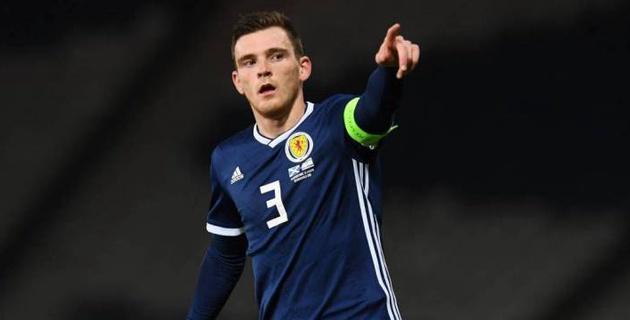 Капитан сборной Шотландии и другие игроки АПЛ не сыграют с Казахстаном в матче отбора на Евро-2020