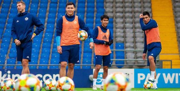 Прямая трансляция первого матча сборной Казахстана по футболу в отборе на Евро-2020
