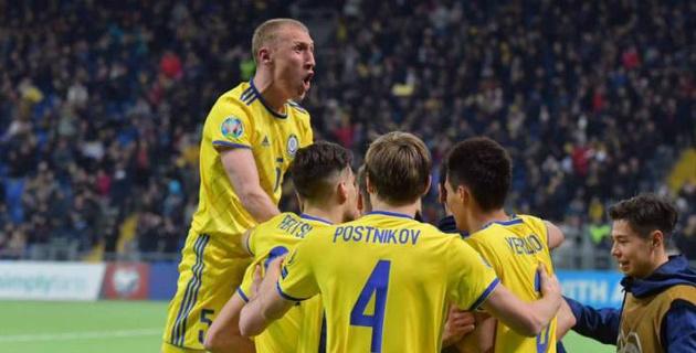 Сборная Казахстана по футболу стартовала с сенсационной победы в отборе на Евро-2020